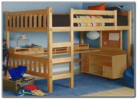 queen bed with desk queen loft bed with desk below