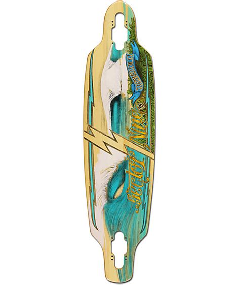 Drop Deck Longboard Zumiez by Sector 9 Shoots 33 5 Quot Drop Through Longboard Deck At
