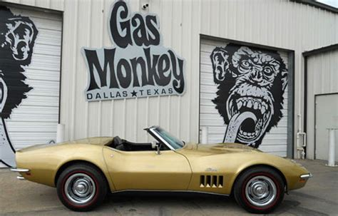 gas monkey garage cars for corvettes on ebay 1969 corvette survivor from the gas