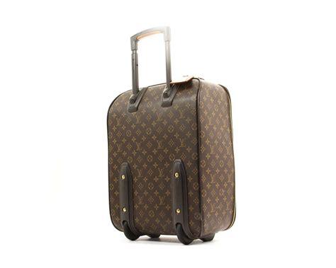 louis vuitton monogram  travel luggage brown travel bag