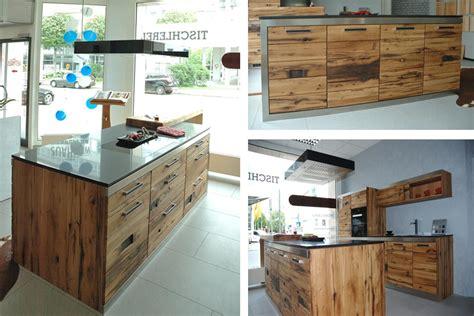 Küchen Aus Altholz by Kubische K 252 Che Im Industriedesign Aus Altholz Naturstein