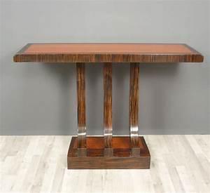 Meuble Art Deco Occasion : console art d co meubles chaises canap s ~ Teatrodelosmanantiales.com Idées de Décoration