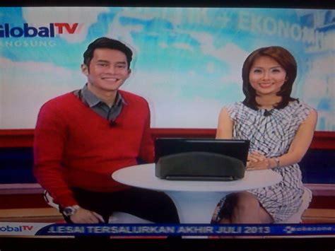 pertelevisian indonesia news presenter sctv global tv