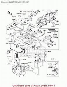 Kawasaki Zx1200c4 Zzr1200 2005 Usa California Canada