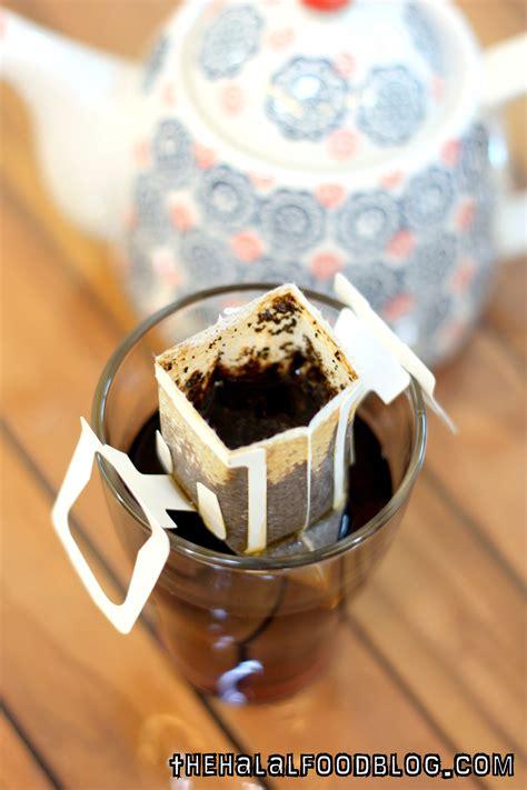 Here is how to make drip coffee. Hook Coffee: Drip Bags - The Halal Food Blog