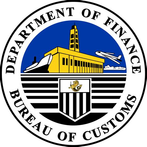 bureau of file bureau of customs svg