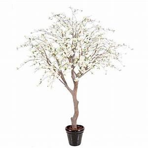 Arbre Artificiel Pas Cher : cerisier en fleurs artificiel de 280 cm arbres fleuris artificiels ~ Teatrodelosmanantiales.com Idées de Décoration
