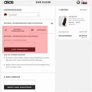 Asos Rechnung : asos ch aktionscode kostenfreie r cksendung 2 ~ Themetempest.com Abrechnung