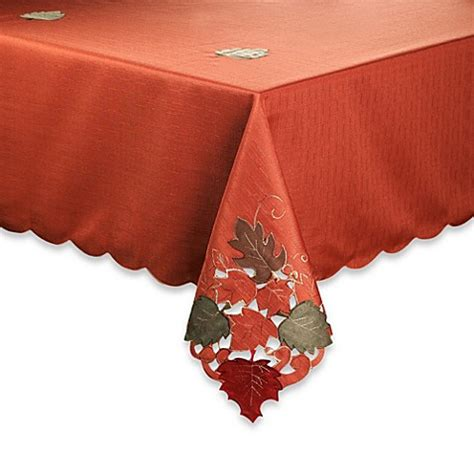 buy thanksgiving tablecloths  bed bath