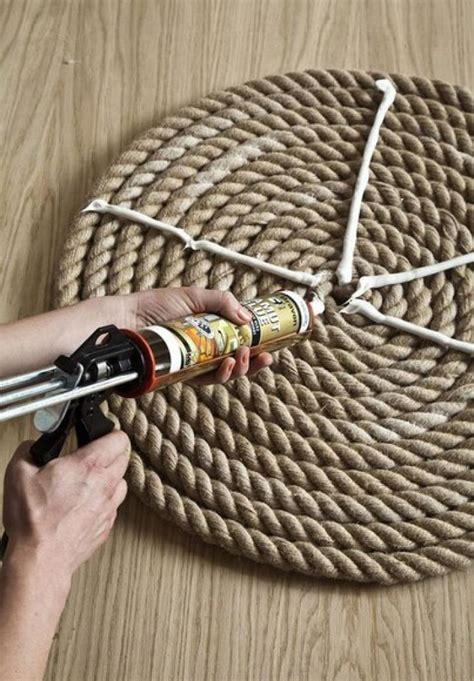 creare un tappeto un elegante tappeto di corda fai da te ispirando