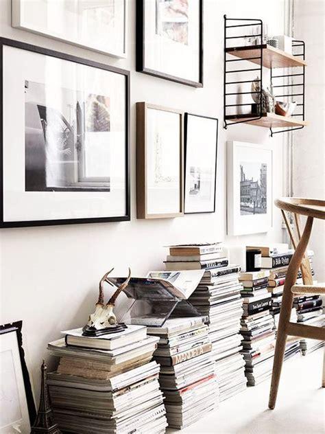 deco pile de livres idees pour la maison en
