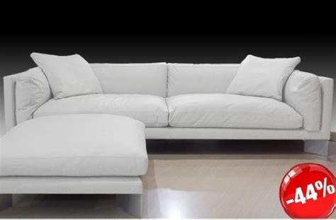 Divano Soft Bench Pelle Bianco