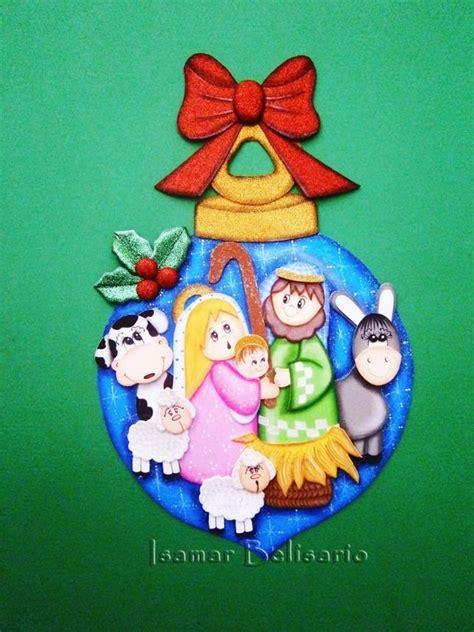 adornos navide241os nacimientos navide 241 os de foami imagui manualidades classycloud co