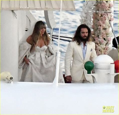 heidi klum tom kaulitz  married   wedding