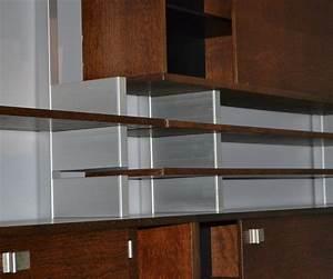 Bibliothèque Design Bois : etag re biblioth que aluminium bois design danois ~ Teatrodelosmanantiales.com Idées de Décoration