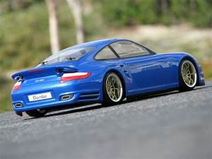 PORSCHE 911 TURBO (997) Custom Painted RC Touring Car / RC ...