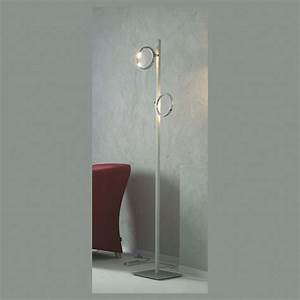 Led Stehlampe 5 Flammig : stehlampe mit 2 led ringen in alu matt ~ Bigdaddyawards.com Haus und Dekorationen