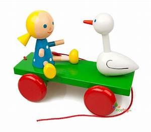 Spielzeug Für Mädchen : ziehspielzeug m dchen und ente ist ein lustiges spielzeug ~ A.2002-acura-tl-radio.info Haus und Dekorationen