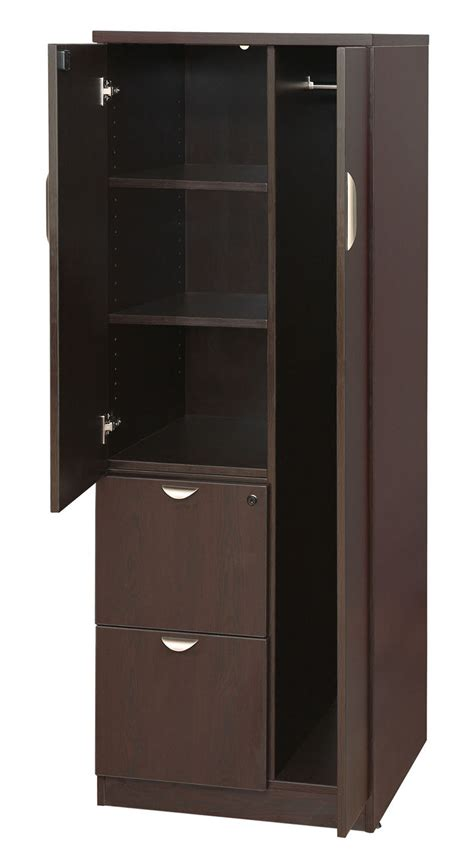 Wooden Wardrobe With Shelves by Storage Tower Wardrobe Cabinet El 207 New Used