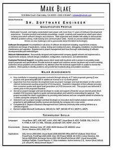 software engineer resume template doc rimouskois job resumes With sample resume for mid level position
