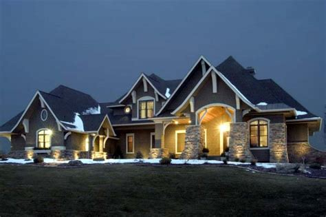 craftsman style house plan    sq ft  bed  bath