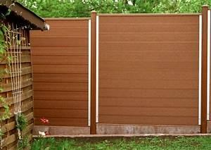 Gartenschrank Holz Selber Bauen : pflegeleichter wpc sichtschutzzaun als heckenersatz seniorengerechten g rten zaun pflegefrei ~ Whattoseeinmadrid.com Haus und Dekorationen