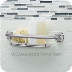 designer grab bars for bathrooms designer grab bar with integrated shelf moen lr2356dch