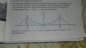 Ionisierungsenergie Berechnen : funktion funktionsgleichung h ngebr cke mathelounge ~ Themetempest.com Abrechnung