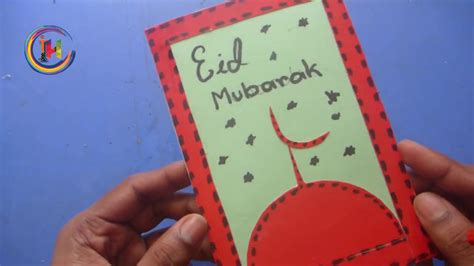 diy eid    handmade eid card youtube