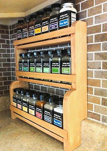 Spice Rack Designs by Spice Rack Freedom Wood Designs