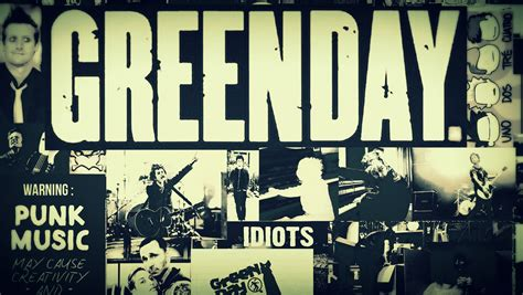 green day collage green day wallpaper