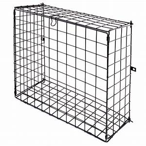 letterbox cage door mounted mail box letter guard basket With the letter catcher