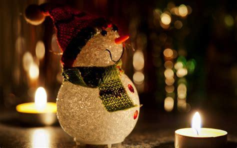 Holiday Snowman Christmas Wallpapers