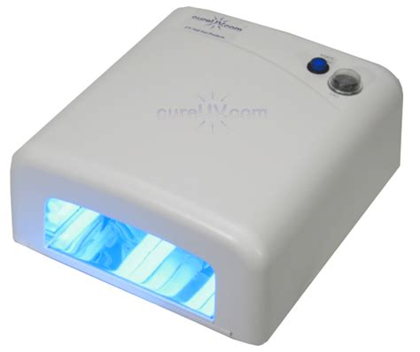 cnd uv l wattage salon style uv nail dryer for gels and shellac 36 watts
