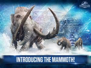 Mammoth Jurassic World the Game