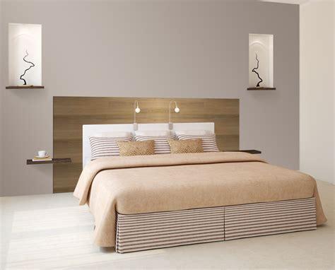 tete de lit chambre idée décoration tête de lit avec paul