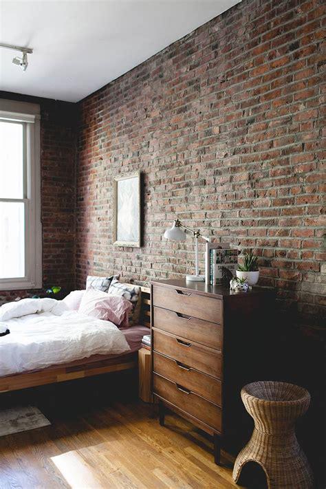 bedrooms  exposed brick walls