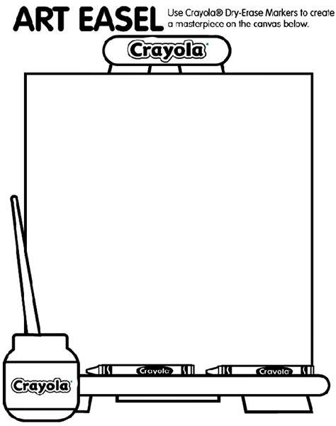 art easel crayolaca