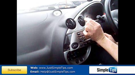 radio removal ford ka  present justaudiotips youtube