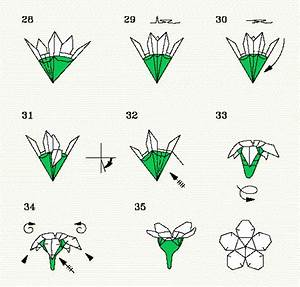 Folding Diagrams For The Cherry Blossom  P  4 Of 4  Steps