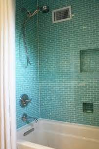 Glass Subway Tile Bathroom Ideas 39 S Bathroom On Tile Glass Tiles And Walk In Shower