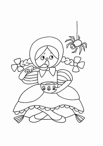 Nursery Rhymes Coloring Pages Printable Rhyme Colouring