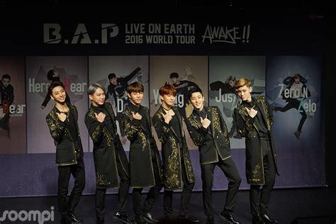 B.a.p World Tour Concert Press Conference
