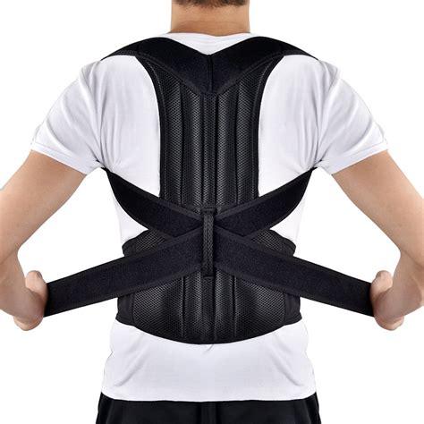 Back Posture Corrector, HailiCare Full Back Brace Shoulder ...