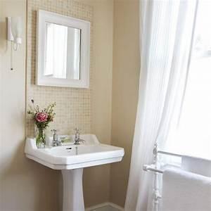 Pedestal sink backsplash decorating pinterest for Pedestal sink backsplash ideas