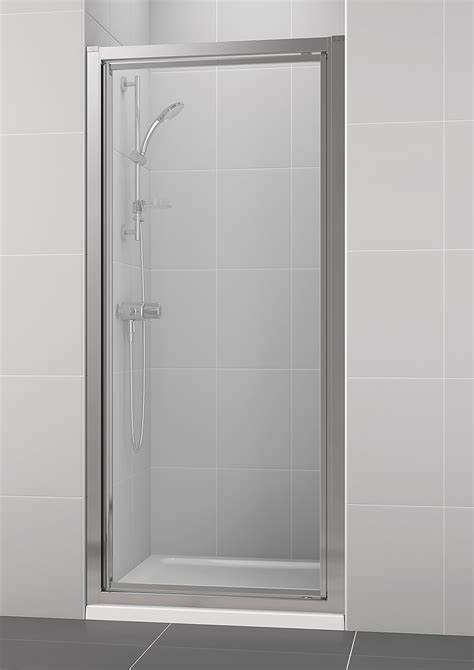 New Shower Door by Ideal Standard New Connect 800mm Pivot Shower Enclosure