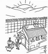 Sunrise Coloring Pages Chicken Run Designlooter 21kb 687px sketch template