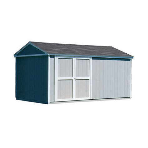 Metal Storage Shed Home Depot by Arrow Woodridge 10 Ft X 12 Ft Metal Storage Building