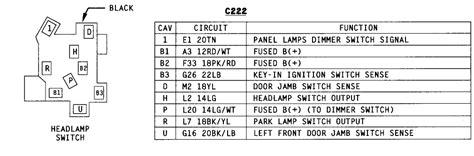 Need Wiring Diagram For Dodge Dakota Headlight