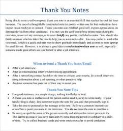 Business Thank You Note Wording